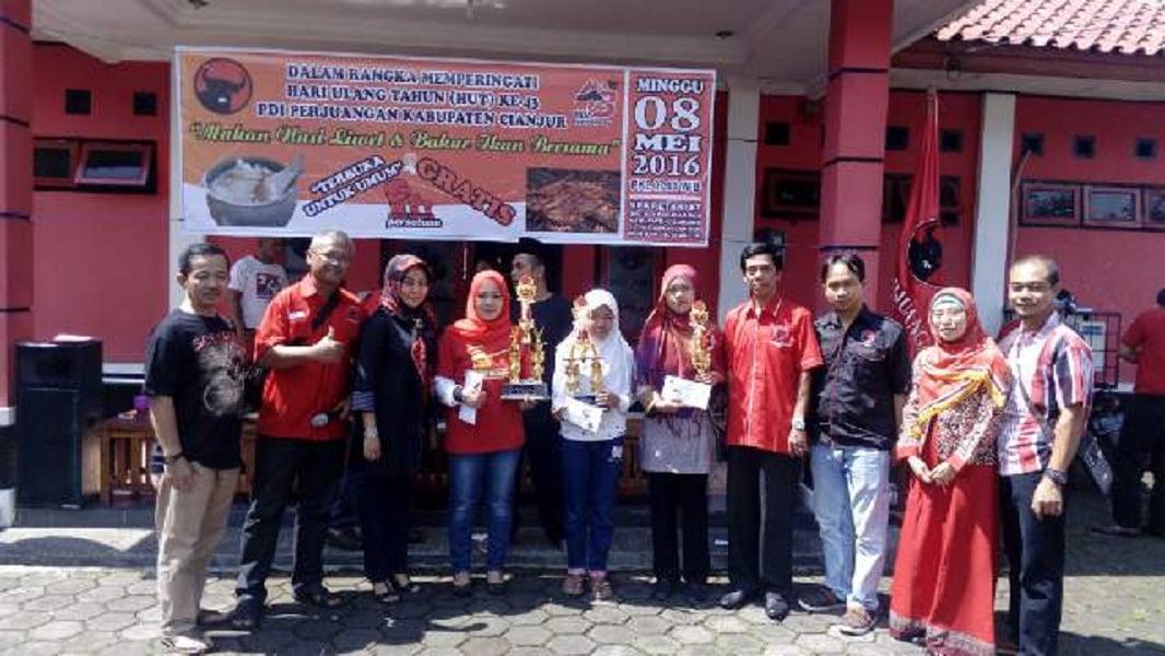 Photo of Foto Kegiatan Festival Bahari Nusantara DPC PDI Perjuangan Kab. Cianjur