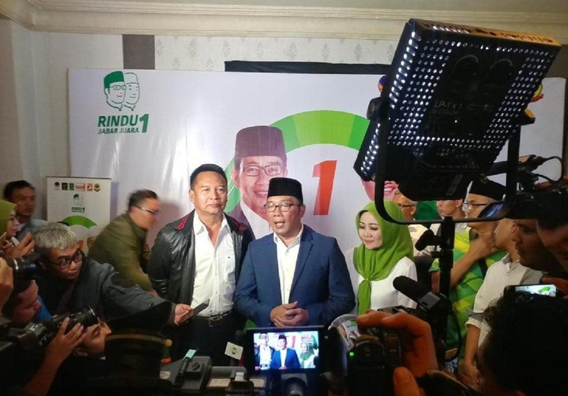 Photo of Hasanuddin Temui Ridwan Kamil Ucapkan Selamat