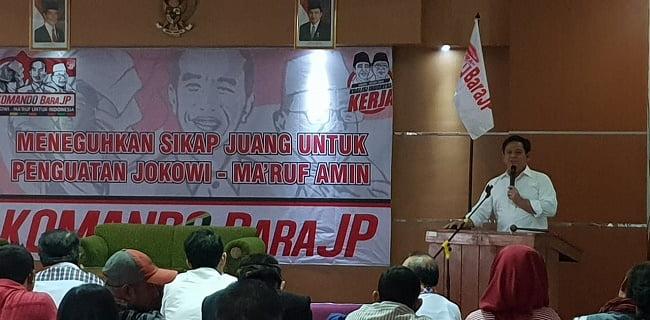 Photo of TKD Jokowi – KH Ma'ruf Amin Dikukuhkan, Abdy Yuhana Targetkan Kemenangan 60% Di Jabar