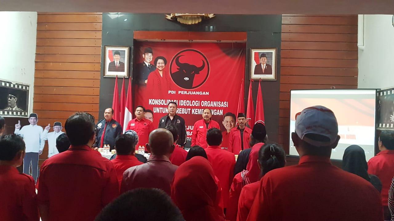 Photo of Rakor Pemenangan Pileg dan Pilpres 2019  DPD PDI Perjuangan Jawa Barat.