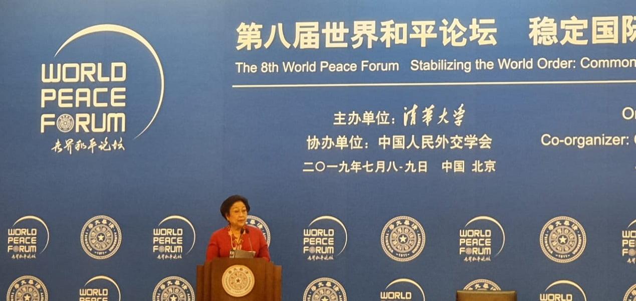 Photo of Ibu Hj. Megawati Soekarnoputri Tekankan Musyawarah Mufakat Demi Perdamaian Dunia
