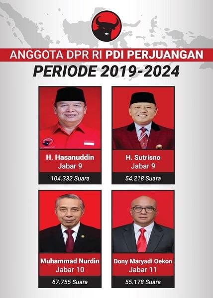 Photo of Berikut Ini Nama Anggota Dewan DPR-RI Terpilih Dapil Jabar IX-XI