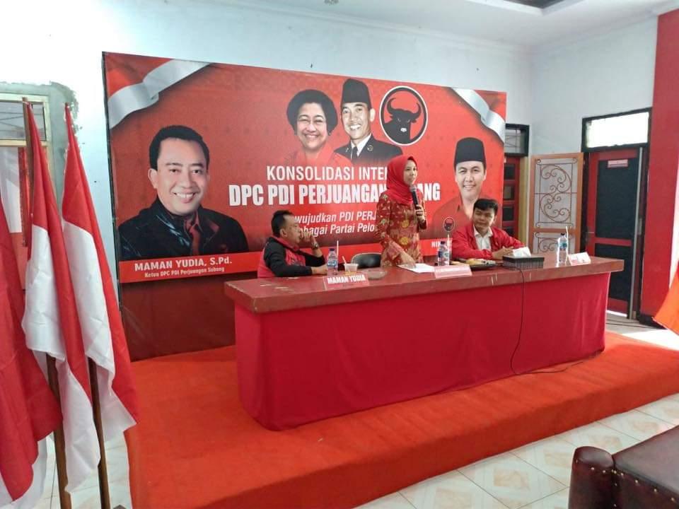 Photo of Bendahara DPD PDI Perjuangan Provinsi Jabar Lakukan Konsolidasi Internal di Subang