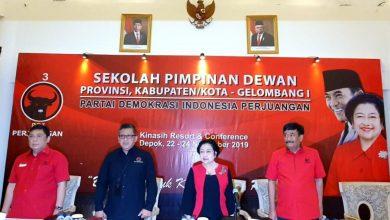 Photo of Resmi Ditutup, 129 Cakada PDI Perjuangan Dinyatakan Lulus Sekolah Partai Gelombang I